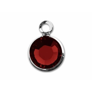January Birthstone Channel Charm