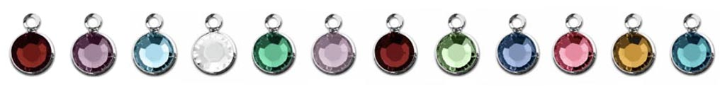Swarovski Crystal 4mm Channel Charms
