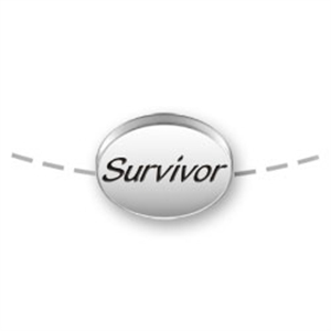SURVIVOR Bead for Necklace or Bracelet