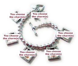 Design your own Mother's Day charm bracelet!!!