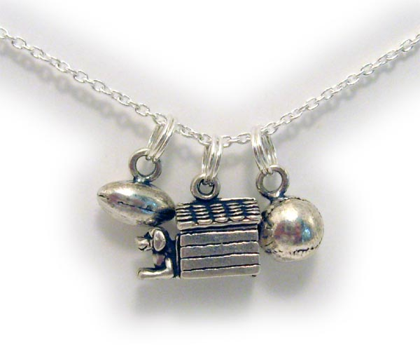 Dog House Charm Necklace