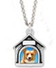 dog picture frame necklace