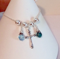 Large Fancy Cross Charm