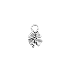 Sterling Silver Tiny Shamrock Charm