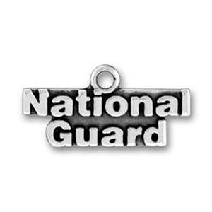 National Guard Active Duty Charms