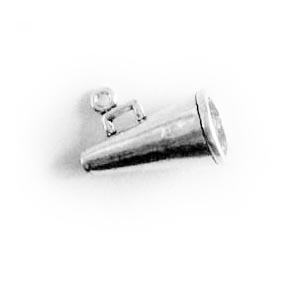 Megaphone made with Sterling Silver made in the USA