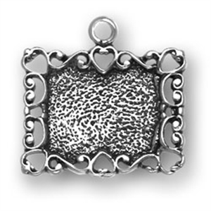 Ornate Picture Frame Charm