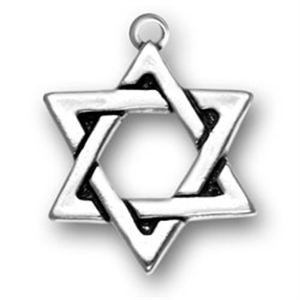 Jewish charms sterling silver jewish or judaic charms charms sterling silver star of david pendant aloadofball Image collections