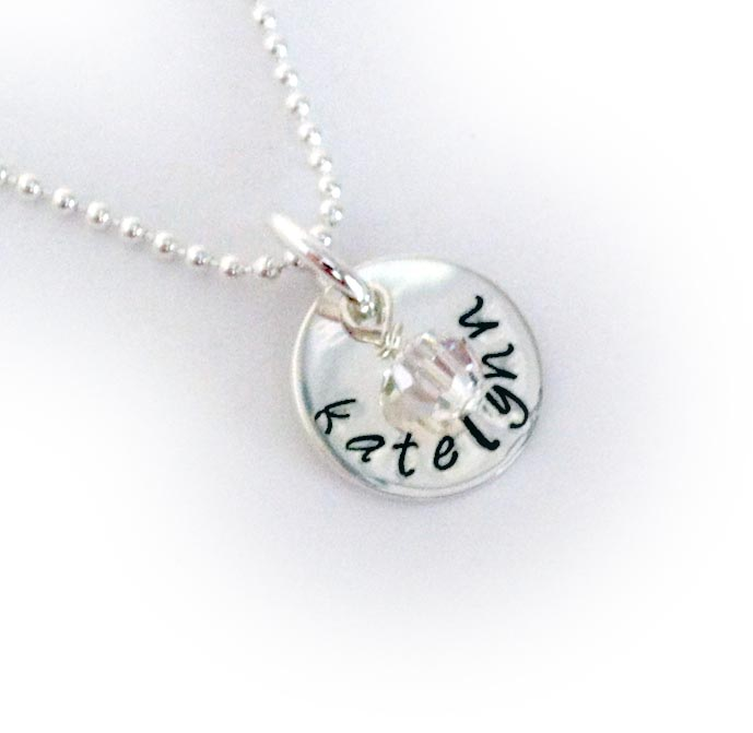 Katelynn Hand Stamped Necklace
