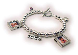 Mother's Day Gifts for Grandma! Design your own GRANDMA charm bracelet!!!