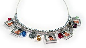 Photo Charm Necklace