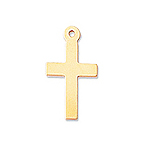 14mm Gold-Filled Cross Charm Made in: USA