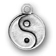Sterling Silver Yin and Yang Charm