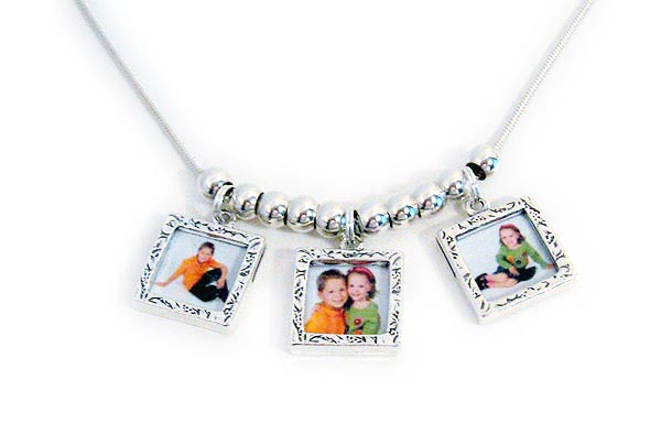 Mother's Day Photo Charm Necklace